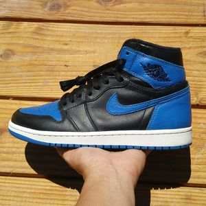 Nike Air Jordan 1 Royal Blue 2017 Basketball Shoes
